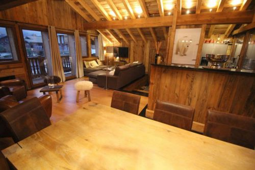 Courchevel's luxury chalets