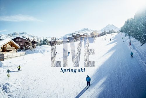 Dare spring skiing in Courchevel !